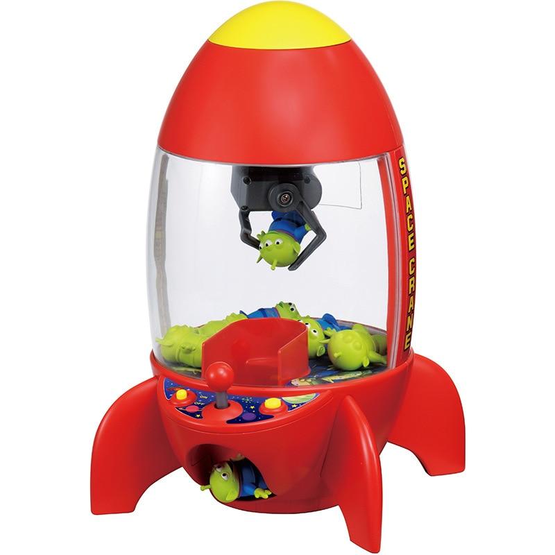 Tomy Dormeuil histoire espace Aliens pince poupée Machine attraper grue Machine jouet pour enfants
