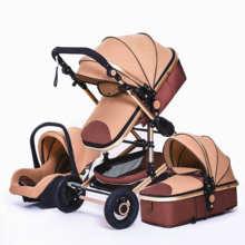 Baby Stroller 3 in 1 newborn stroller baby car pushchair Hig