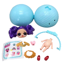 NEW Omg Surprise Doll Toy Blind Box Decoration Hand-made Variable Color Water Spray Ball Diy Lol Doll Toys for Children Girl Toy eaki genuine diy surprise doll toy plastic toys diy toy princess doll for children girl birthday christmas gifts