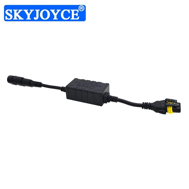 SKYJOYCE 20 шт./лот HID Canbus декодер для автомобильного освещения ксеноновый комплект H1 H3 H4 H7 H11 ЭМС балласт предупреждающий подавитель без ошибок к...