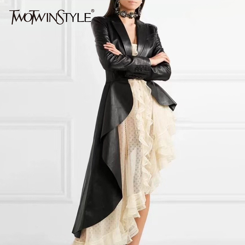 Last High Coats Asymmetrical