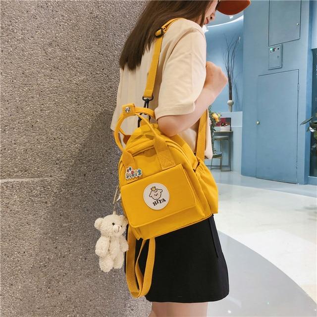 Feminino multifunction bags for women ins ferramentas na moda crossbody saco coreano japonês harajuku mochila pequena bolsa de ombro 2020 2