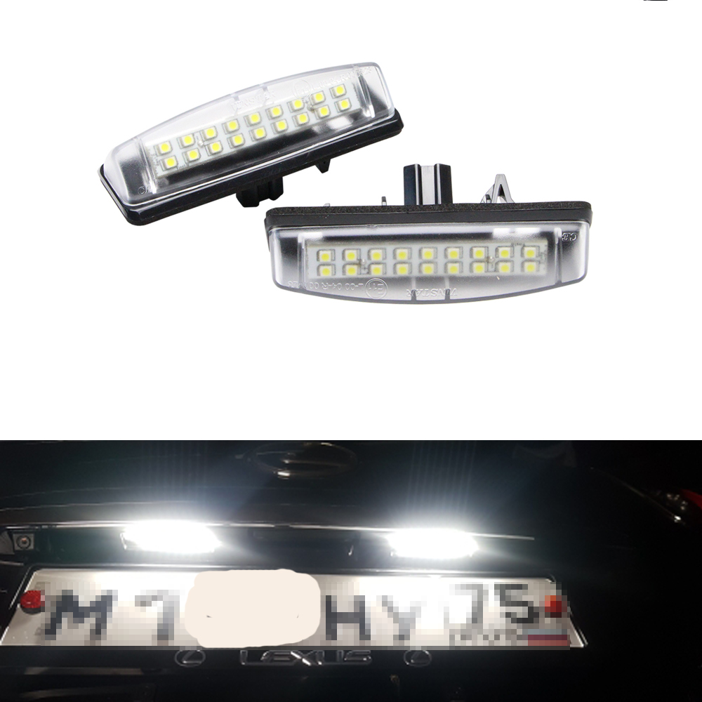 OEM#: 8127130290 LED Number License Plate <font><b>Lights</b></font> For <font><b>Lexus</b></font> IS200 IS300 LS430 <font><b>GS300</b></font> GS430 GS400 ES300 ES330 RX300 RX330 RX350 image