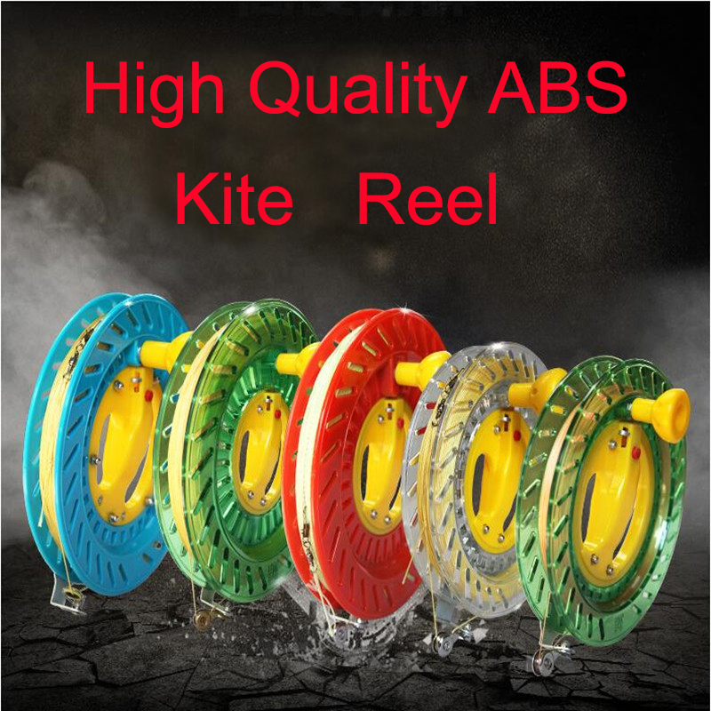Free Shipping High Quality Kite Reel Various Colors Easy Control Outdoor Toys Kite Flying Wheel Kite Line Winder Trilobite Kite