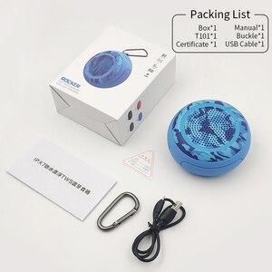 Image 5 - Cyboris מים צף IPX7 עמיד למים 5W חיצוני Bluetooth רמקול TWS שחייה נייד מיני רמקולים אלחוטי עם מיקרופון/TF/Aux