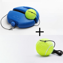 Tennis Training Tool Tennis Practice Trainer Single Self-study Exercise Rebound Ball Baseboard Sparring Device Tennis Accessorie