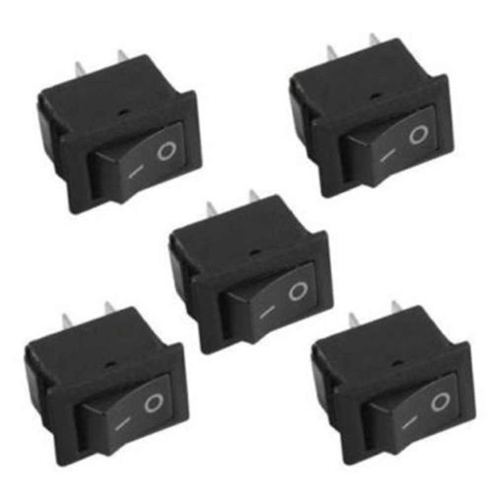 10Pc Rocker Switch On-Off 2 Pins 12V Auto Boot Ronde Dot Light On/Off Rocker toggle Switch Tool Set Auto Accessoires
