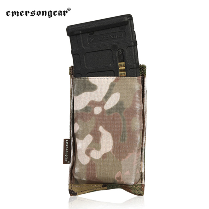 emersongear <font><b>Magazine</b></font> Pouch Fast Draw Single <font><b>M4</b></font> <font><b>Magazine</b></font> Pouch High Speed Open Top 5.56 Rifle Pouch Mag Tactical Military Pouch image