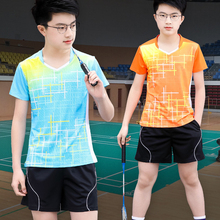 Children Badminton shirts Sets, Girls Tennis Clothes Adult Ping Pong Clothing Boys Table Tennis Kits Kids SportsJersey Suits