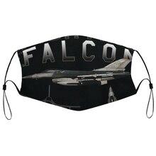 Пылезащитная маска с фильтром F-16 Fighting Falcon Schematic Custom Men