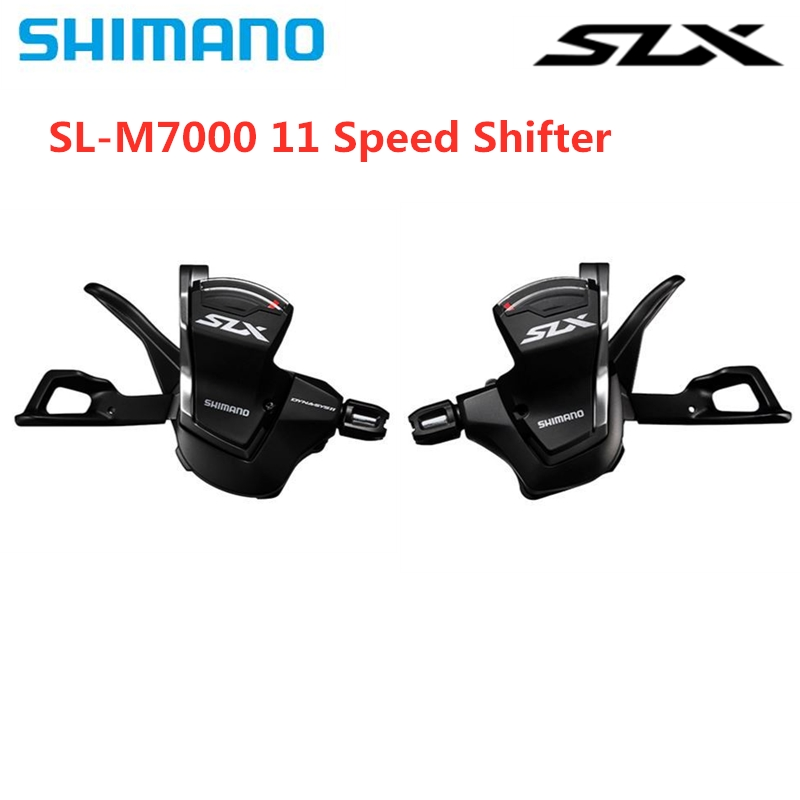 <font><b>Shimano</b></font> Deore <font><b>SLX</b></font> SL-<font><b>M7000</b></font> Shift MTB Bicycle Bike Part 3x11 2x11 Speed Right Shifter Black 33/22s Left Shift Lever w/Inner Cable image