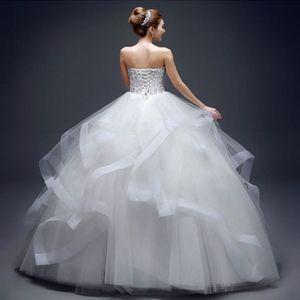 Image 4 - 6 חישוקים אין חוט גדול חצאית הכלה כלה חתונה שמלת תמיכה תחתונית נשים תלבושות חצאיות רירית