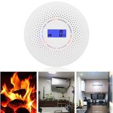 Alarm-Light Smoke-Monitor Carbon-Monoxide Co-Detector Sound-Warning-Sensor for Home Lcd-Display
