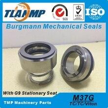 M37G 43 M37G/43 (재질: TC/TC/Vit) G9 TC 시트, M37G/43 G9 이있는 샤프트 크기 43mm 펌프에 사용되는 TLANMP Burgmann 기계식 씰