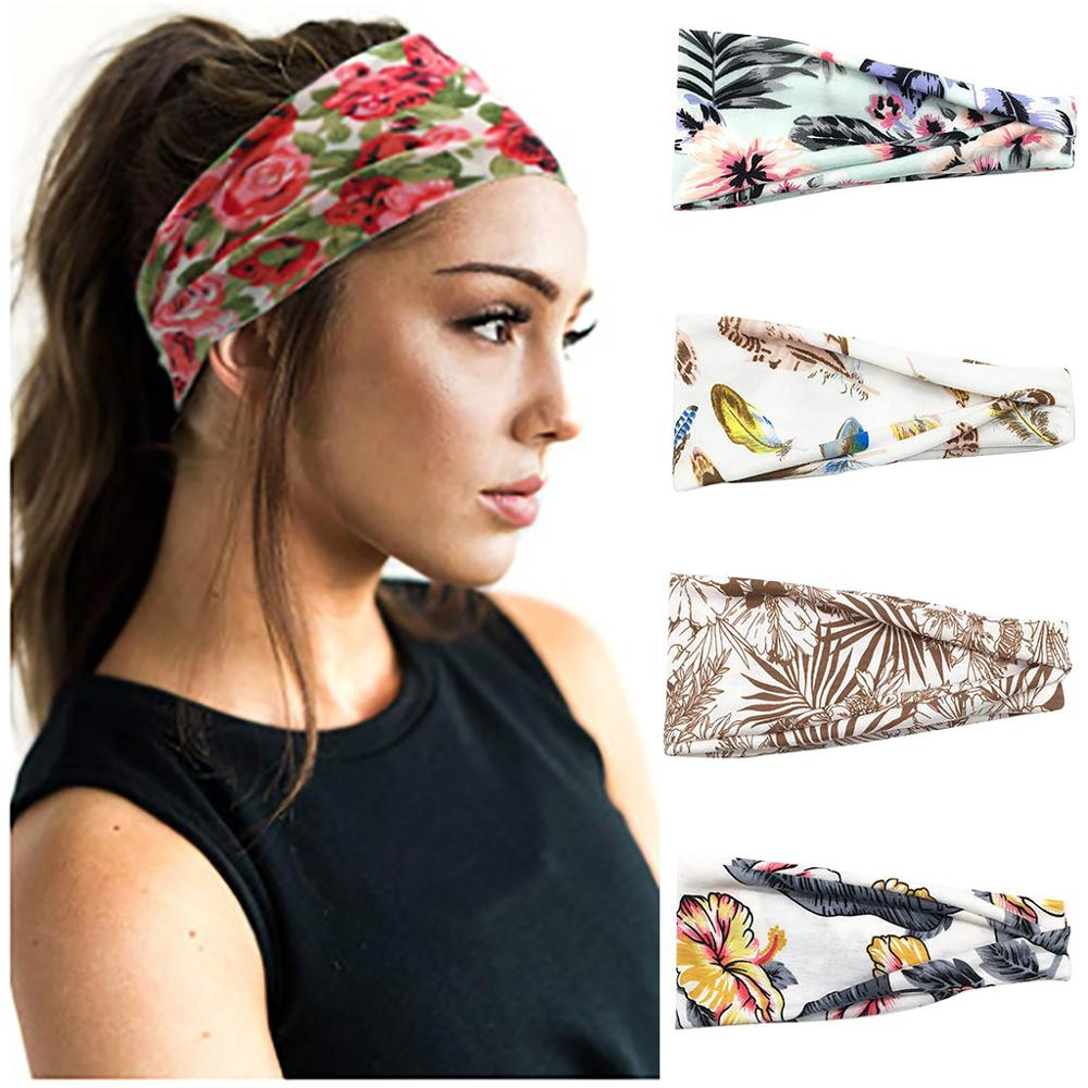 Yoga Headband Sweat Sport Wide Fascia Testa Unisex Ladies T-