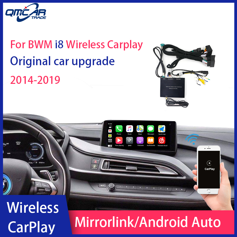 Wireless Apple CarPlay/Android Auto for BWM i8 image