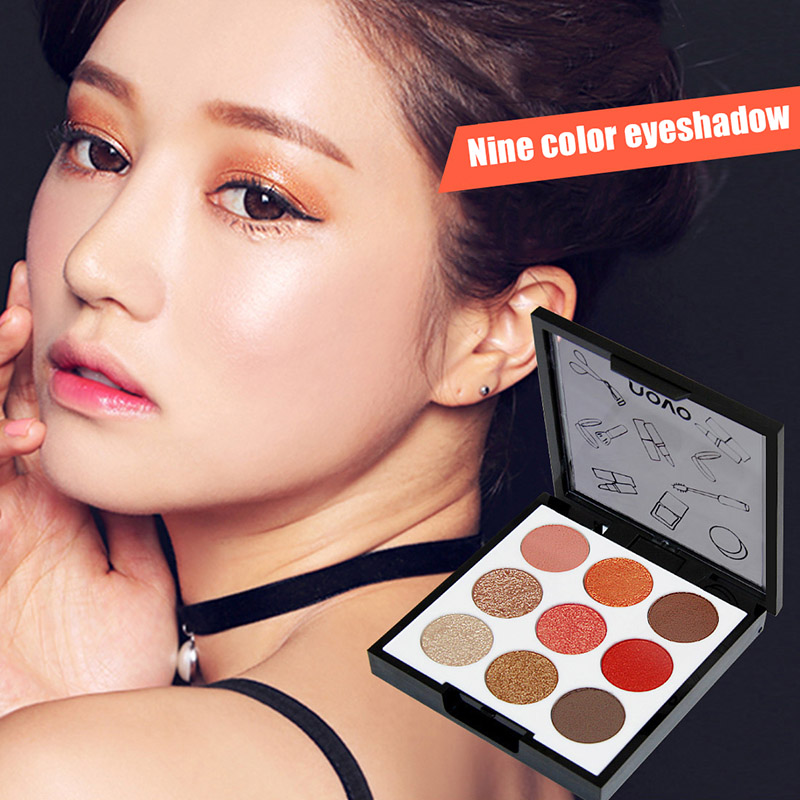 High Quality Fashion Eyeshadow Palette Glitter Matte Earth Color Makeup Waterproof Eye Powder Tool Cosmetic Beauty Tools---MS