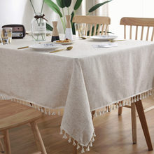 Home Decorative Table Cloth Linen Lace Tablecloth Rectangular Dining Table Cover Table Cloths Obrus Tafelkleed Mantel Mesa Nappe
