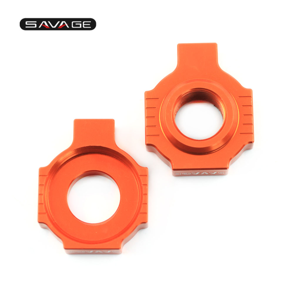 Chain Adjuster Regulator Tensioner Fastener For KTM 640 660 LC4 ENDURO SUPERMOTO ADVENTURE R SMC RALLYE FACTORY Swingarm Slider