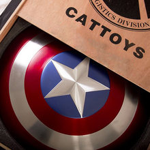CATTOYS 1:1 Captain US Shield Replica&Prop Perfect Version COLLECTION GIFT aluminum alloy 57CM Shield Cosplay