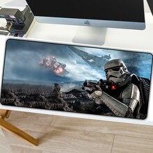 SOVAWIN 800mm * 300mm Star Wars Maus Pads XL Mousepad Natürliche Rubbe Nicht slip Gaming Maus Pad matte Locking Rand für PC Desktop