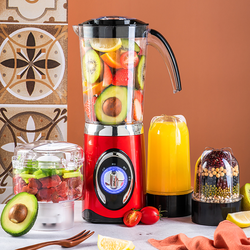 220V Electric Juicer Automatic Multifunctional Household Meat Grinder Soybean Milk Fruit Juice Blender EU/AU/UK Plug
