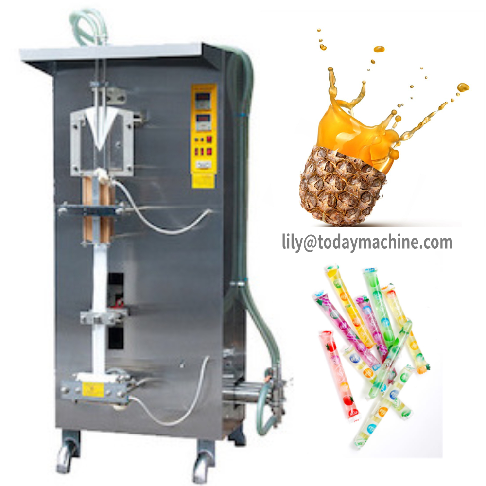 Automatic Liquid Sachet Water Machine Drinking Water Pouch Filling Machines