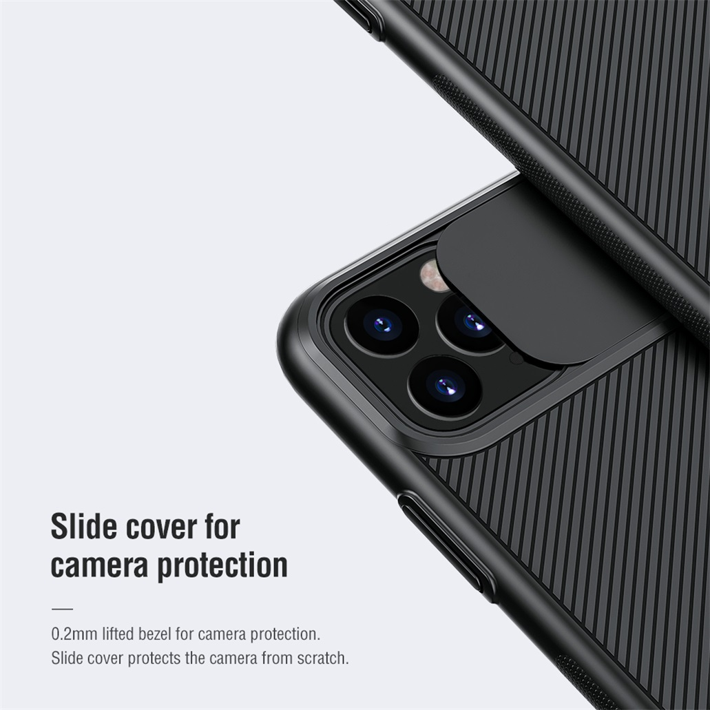 H69f76cc929794dda90bbcad850941d0bg For iPhone 11 11 Pro Max Case NILLKIN CamShield Case Slide Camera Cover Protect Privacy Classic Back Cover For iPhone11 Pro