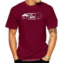 T-shirt manica corta da uomo estiva Cecchino Headshot Personalizzata Con Nome O Tuo Nome Mmo Fps Tshirt Tees Streetwear
