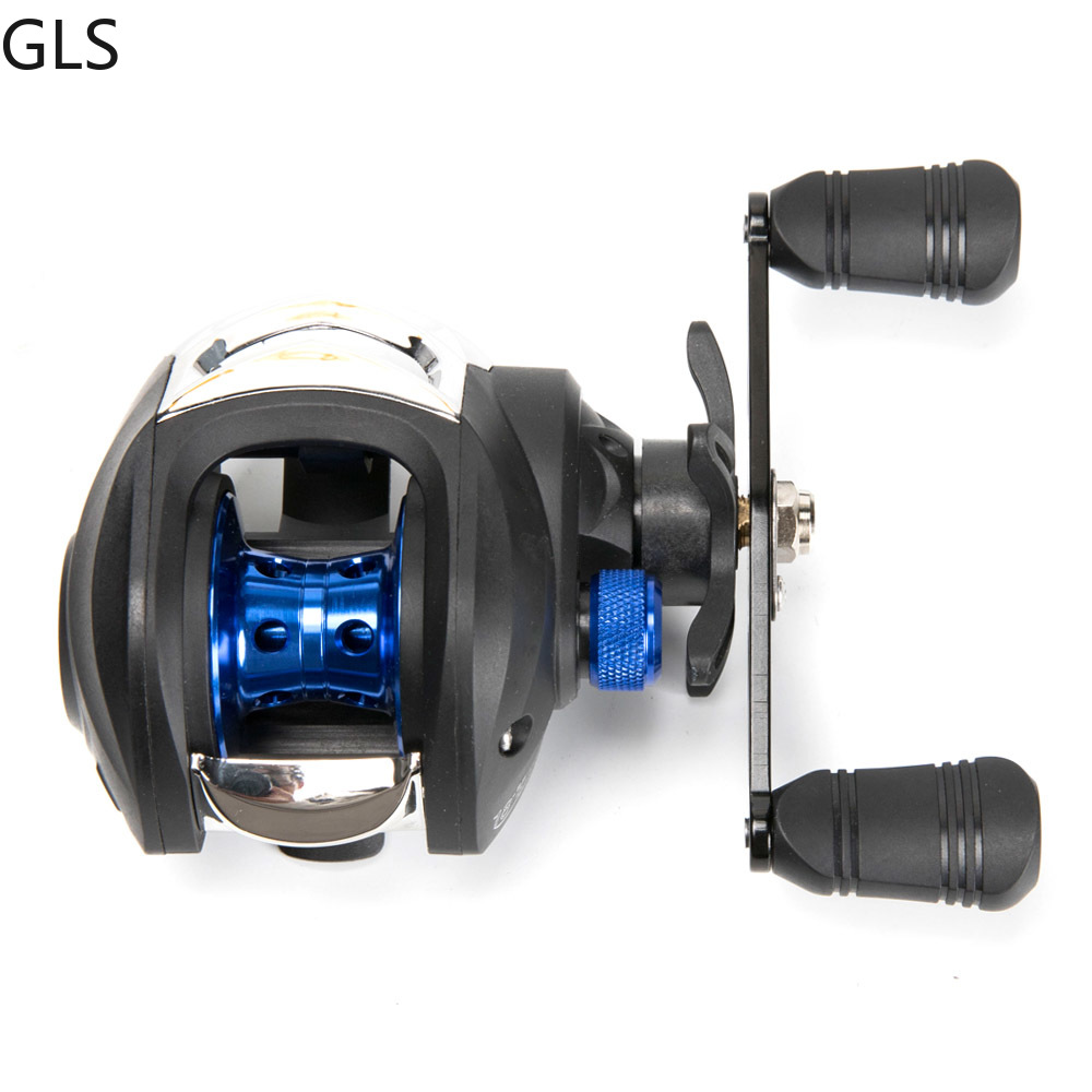 GLS Metal winding ring Series Baitcasting Reel 7.2:1 Ultra-Light  3