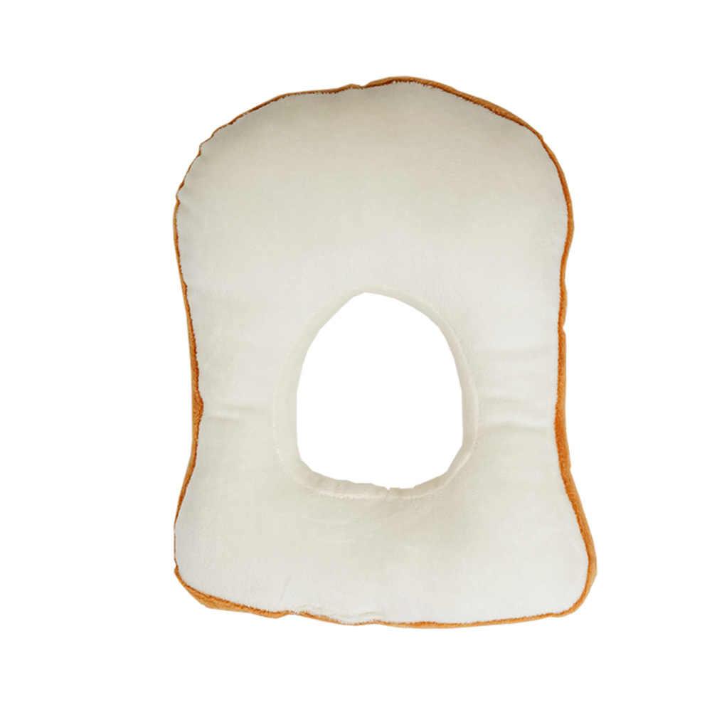 Funda de cabeza protectora suave con forma de pan y cuello de gato para mascota Show Cosplay Props YU-Home