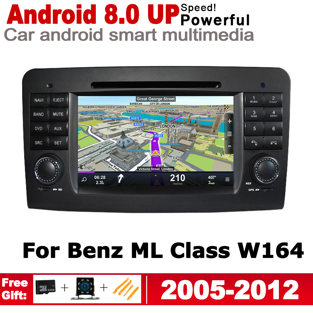 2 Din Car Multimedia Player For <font><b>Mercedes</b></font> Benz <font><b>ML</b></font> Class <font><b>W164</b></font> 2005~2012 NTG Android <font><b>Radio</b></font> GPS Navigation Autoaudio Bluetooth WiFi image