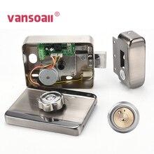VANSOALL Электрический замок управления электронный RFID дверной замок для видеодомофона дверной звонок Система контроля допуска к двери