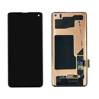 Capacitive Repair LCD Screen Frame Backlight Digitizer Mobile Phone Replacement Touch Panel Assembly For Samsung Galaxy S10