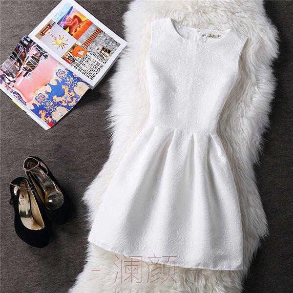 Vintage Print Women Dresses 5