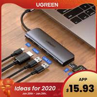 Moyeu Ugreen USB C Type C à Multi USB 3.0 HUB adaptateur HDMI Dock pour MacBook Pro Huawei Mate 30 USB-C 3.1 Port de répartiteur Type C HUB