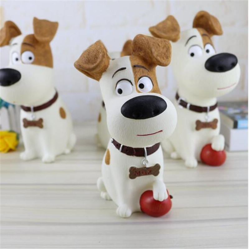 Coins Storage Box Money Boxes Cartoon Home Decoration Dog Bank Child Christmas Gift Toys