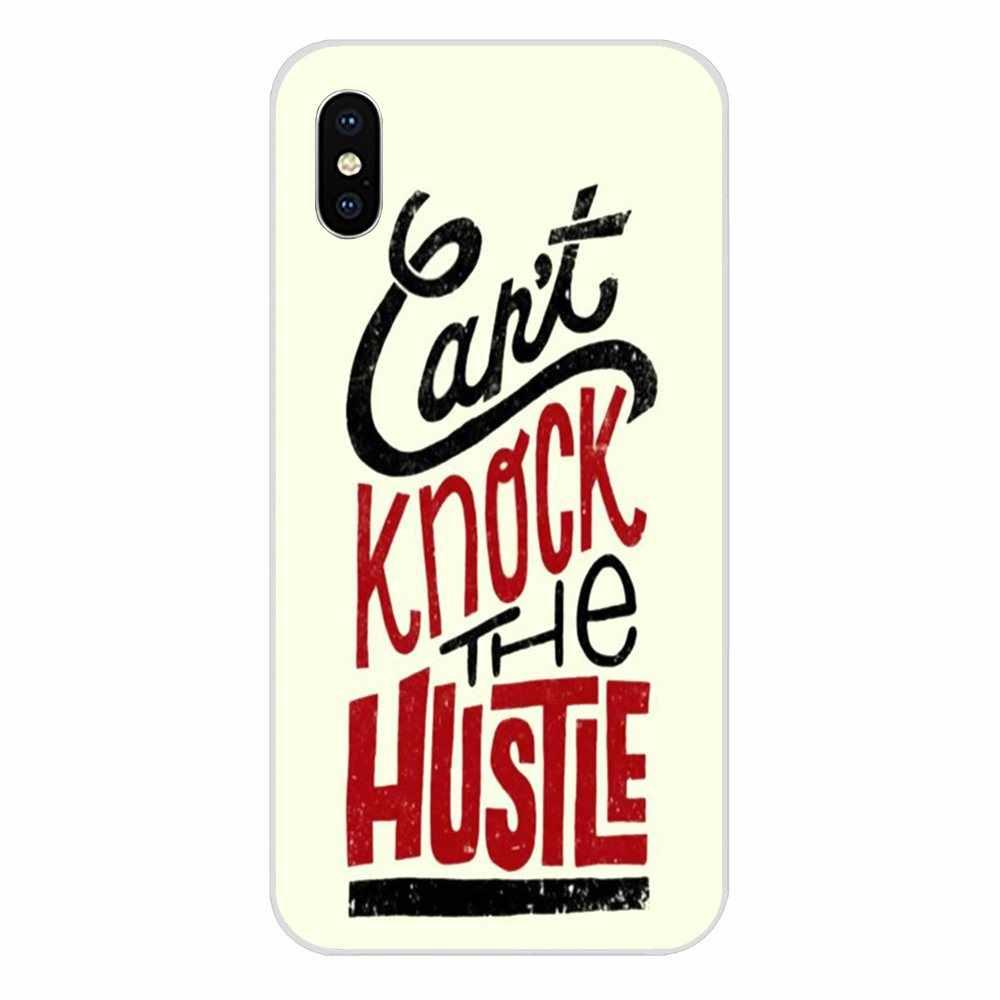 Cubierta suave de Capa Jay Z no puede golpear el Hustle para Apple iPhone 4 4S 5 5C 5S SE 6 6 6S 7 8 Plus X XS X Max XR