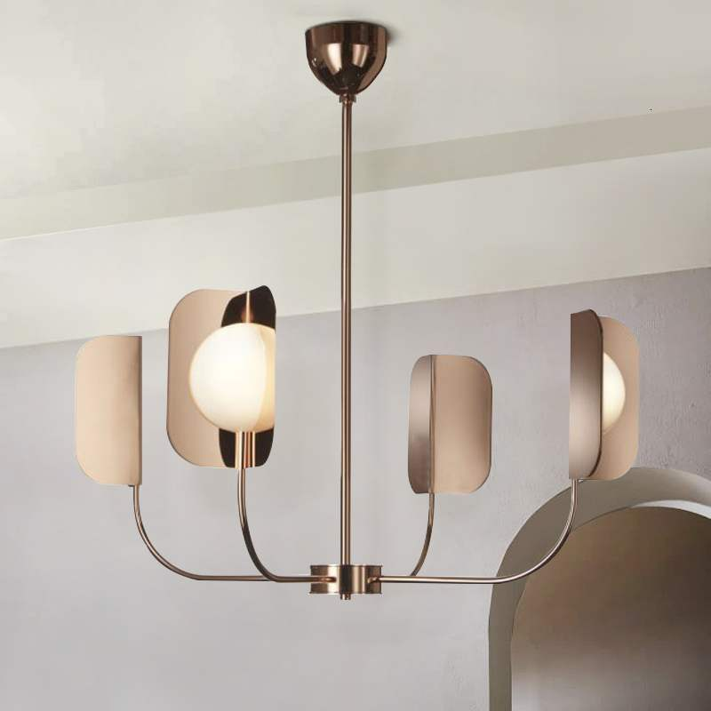 Northern Europe Minimalist Personality A Chandelier Designer Model Room Bedroom A Living Room Study Modern Lamps And Lanterns