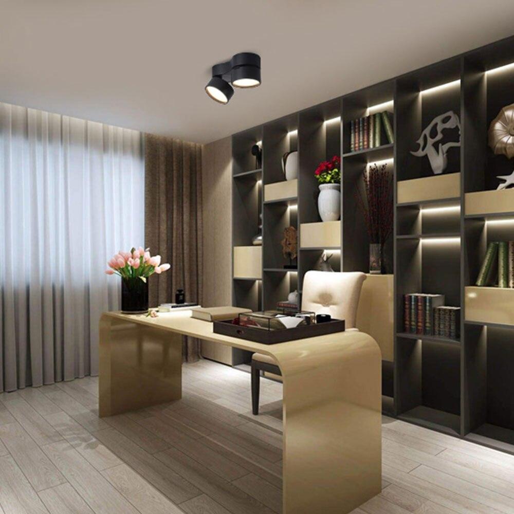 Квадратная 15 Вт поверхность Встроенная светодиодная панель свет потолочный светильник лампа AC85 265V 30 шт/партия, DHL/FedEx Бесплатная доставка - 2