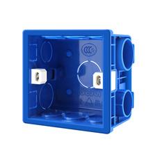 Regulowany 86 gniazdo przełącznika pudełko do montażu na ścianie z powrotem ciemne pudełko pcv 50mm głębokość przełącznik do montażu ściennego gniazdo ścienne montażu kasety 12 sztuk tanie tanio CN (pochodzenie) NONE bj-DLP