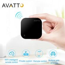 AVATTO S06 мини умный дом автоматизация 2,4 ГГц wifi ИК пульт дистанционного управления с Alexa, Google Home голосовой Интеллектуальный универсальный пульт дистанционного управления