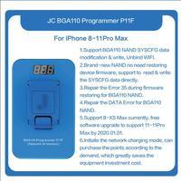 Updated JC P11 BGA110 Programmer NAND Read Write Programmer for iPhone 8 8P X XR XS XSMAX NAND Memory Upgrade Error Repair Tool