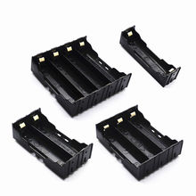 18650 Cell Battery Holder Storage Box Case 1x 2x 3x 4x 18650 DIY Open Wire Pins Drop Shipping
