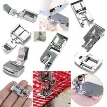 Foot-Feet-Kit-Set Presser Sewing-Machine-Accessories Domestic Hem Foot-Spare-Parts New