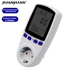Tensão digital volt wattmeter power analyzer medidor de energia eletrônica medidor de energia interruptor de alimentação automático eua ue reino unido au plug