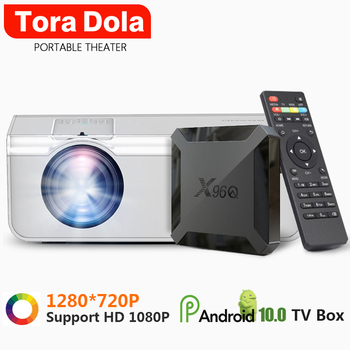 Must Have, Mini Projector, TD90S 1280*720P 2800 Lumens, Android 10.0 Box, LED Projector For Full HD 1080P 4K Video Home Theater