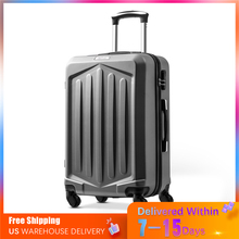 New Fashion Hard ABS Rolling Luggage Spinner Dark Gray Suitcases Wheel Men/Women Business Carry On Trolley Travel Bag