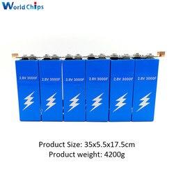 Diymore 6 teile/satz 16,8 V 500F Super Kondensator Super Farad Kondensator mit Schutz Bord Einreihige 2.8V3000F Kapazität für Auto