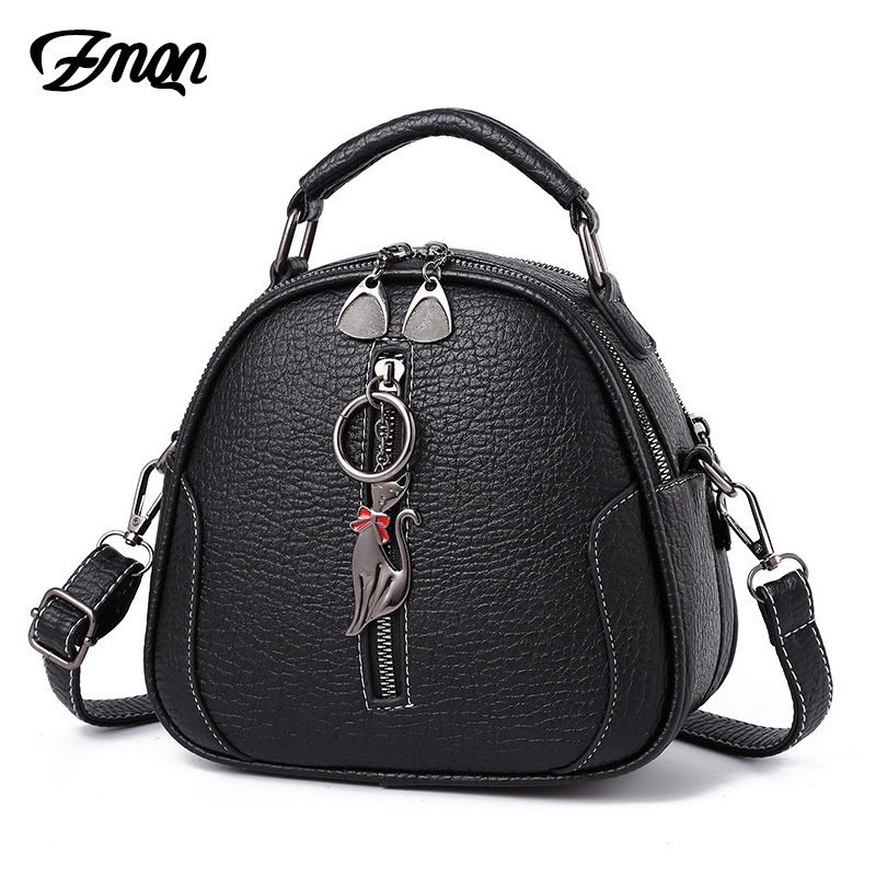 ZMQN Small Bags For Women 2019 Black Handbag Lady Shoulder Bag Women's Leather Crossbody Bags Female Luxury Sequined Zipper A568